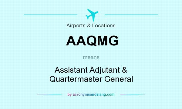 What Does AAQMG Mean