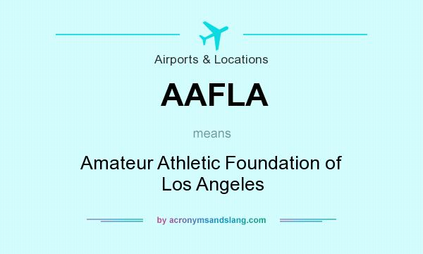 Amateur athletic fund los angeles