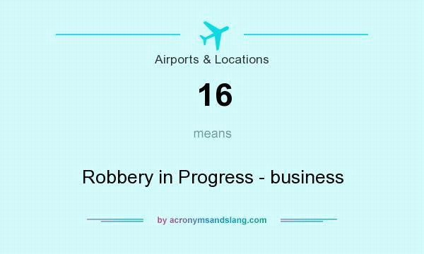 robbery in progress
