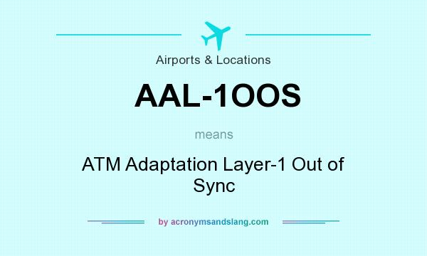 What does AAL-1OOS mean? It stands for ATM Adaptation Layer-1 Out of Sync