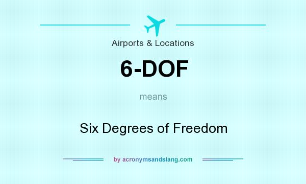 6-DOF - Six Degrees of Freedom in Airports & Locations by