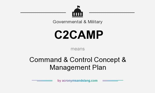 What does C2CAMP mean? It stands for Command & Control Concept & Management Plan