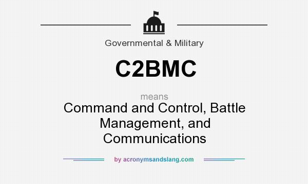 What does C2BMC mean? It stands for Command and Control, Battle Management, and Communications