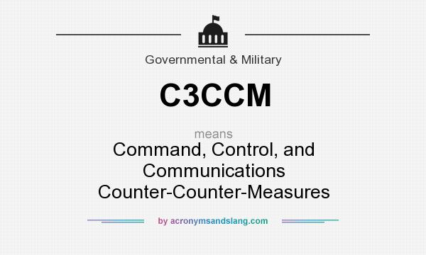 What does C3CCM mean? It stands for Command, Control, and Communications Counter-Counter-Measures