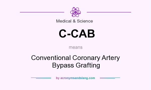 What does C-CAB mean? It stands for Conventional Coronary Artery Bypass Grafting