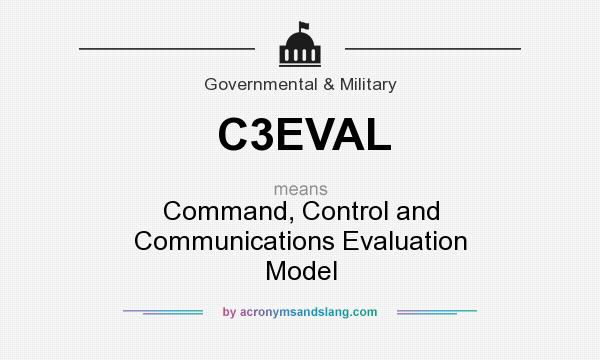 What does C3EVAL mean? It stands for Command, Control and Communications Evaluation Model