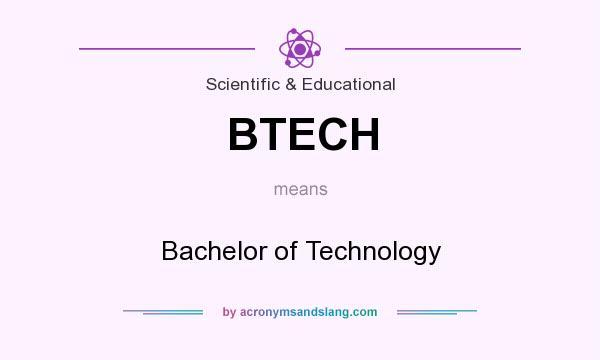 Best way to define B tech programming