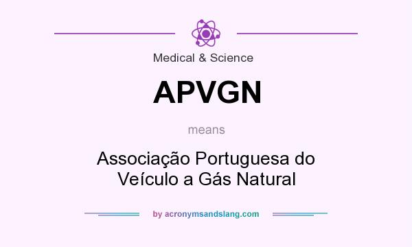 What does APVGN mean? It stands for Associação Portuguesa do Veículo a Gás Natural