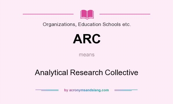 What is analytical research?