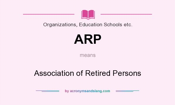association of mature retired persons