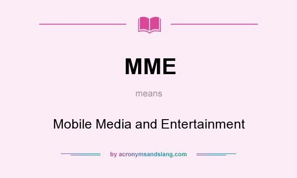 modern means of entertainment
