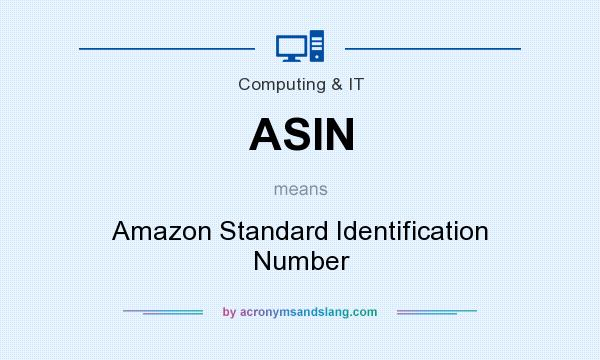 what does asin stand for