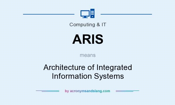 What does ARIS mean? It stands for Architecture of Integrated Information Systems