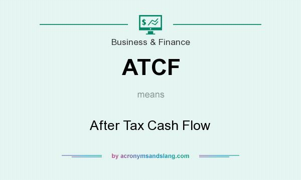What does ATCF mean? It stands for After Tax Cash Flow