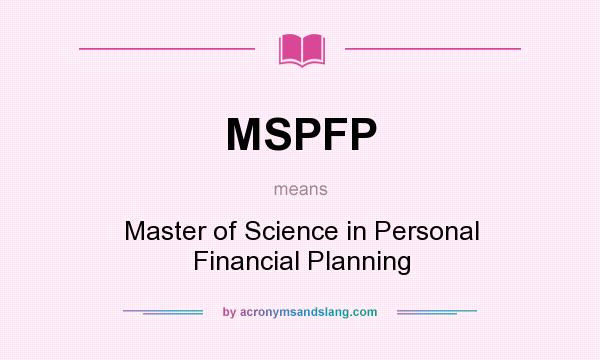 financial planning definition