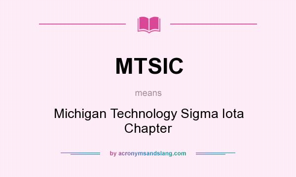 What does MTSIC mean? - Definition of MTSIC - MTSIC stands ...