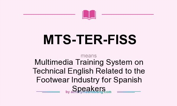 What does mts ter fiss mean definition of mts ter fiss for What does terrace mean