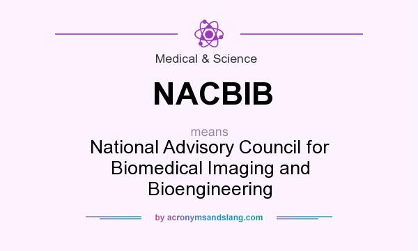 What does NACBIB mean? It stands for National Advisory Council for Biomedical Imaging and Bioengineering