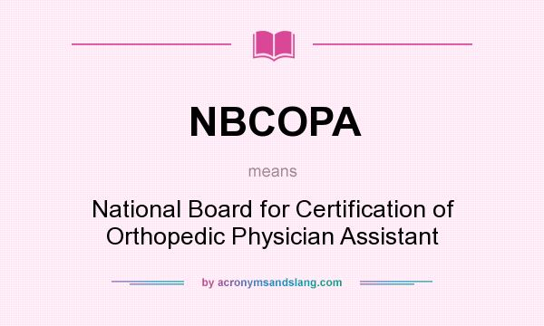 What does NBCOPA mean? - Definition of NBCOPA - NBCOPA stands for ...