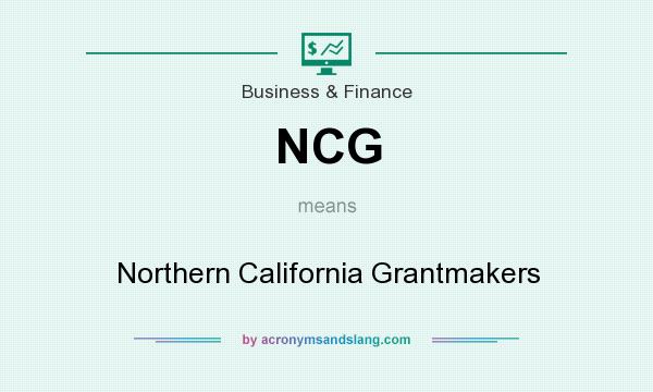 What does NCG mean? It stands for Northern California Grantmakers