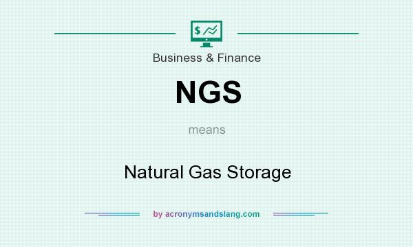 What does NGS mean? It stands for Natural Gas Storage