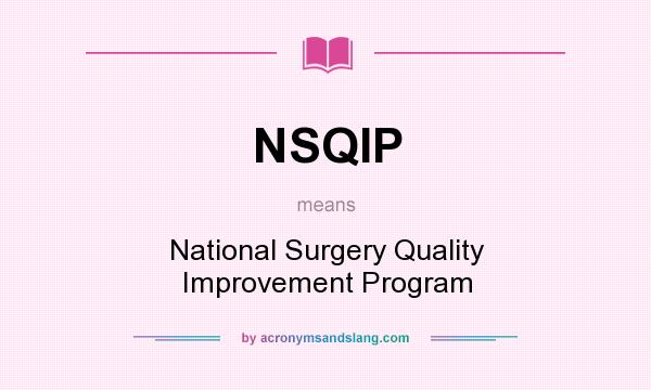 what was vha s approach to its nsqip program