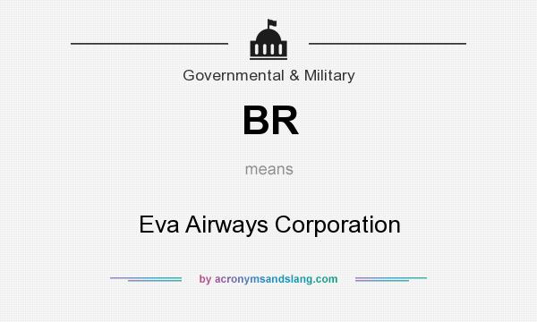 What does BR mean? It stands for Eva Airways Corporation