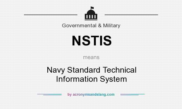 nasis navy NSTIS - Navy Standard Technical Information System in Government ...