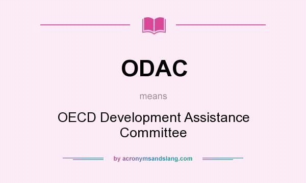 ODAC - OECD Development Assistance Committee in Undefined by