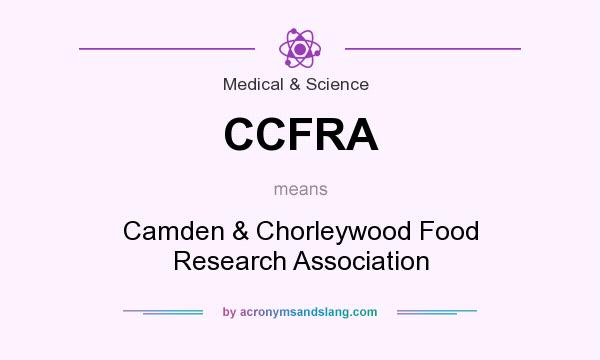 What does CCFRA mean? It stands for Camden & Chorleywood Food Research Association