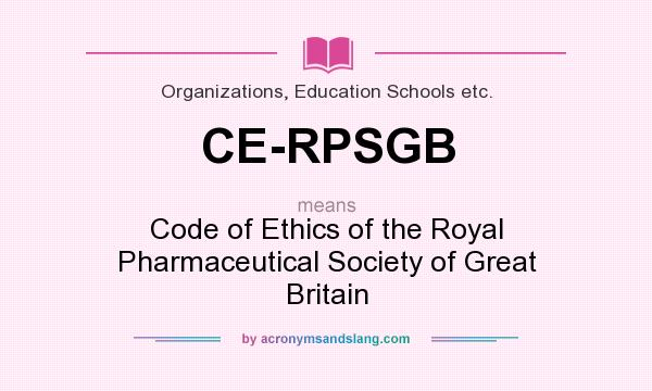 pharmaceutical society of great britain
