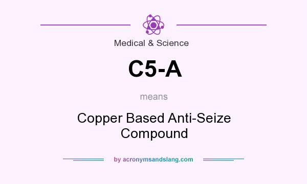 What does C5-A mean? It stands for Copper Based Anti-Seize Compound