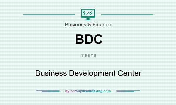 What does BDC mean? It stands for Business Development Center