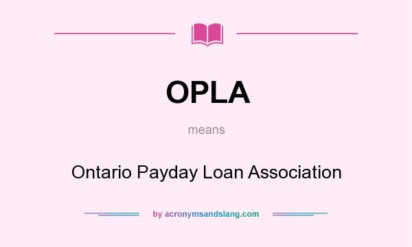 Ontario payday laws