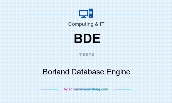 Borland Database Engine Перевод