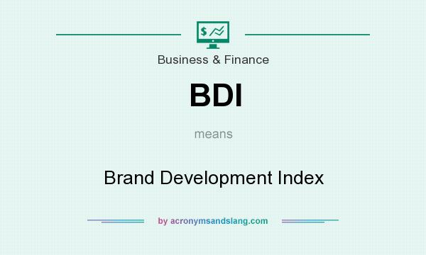 What does BDI mean? It stands for Brand Development Index