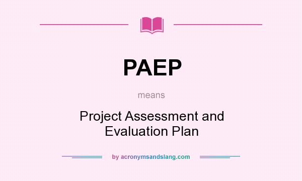 paep test essay
