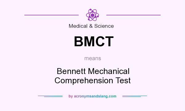 BMCT Bennett Mechanical Comprehension Test In Medical