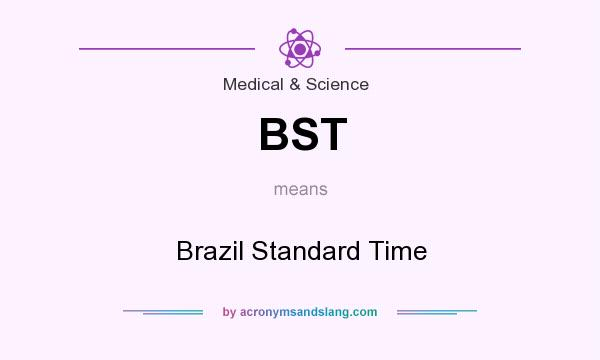 What does BST mean? It stands for Brazil Standard Time