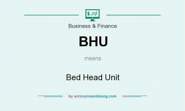 What does BHU mean? It stands for Bed Head Unit