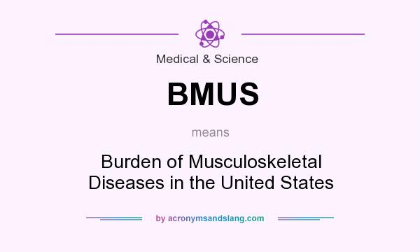 What does BMUS mean? It stands for Burden of Musculoskeletal Diseases in the United States
