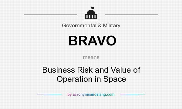 bravo what does it mean