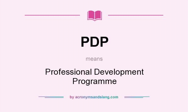 pdp development