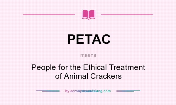 "an overview of people of the ethical treatment of animals Khyle bolante needs your help with ""people for the ethical treatment of animals (peta): say no to animal cruelty"" join khyle and 3,691 supporters today."