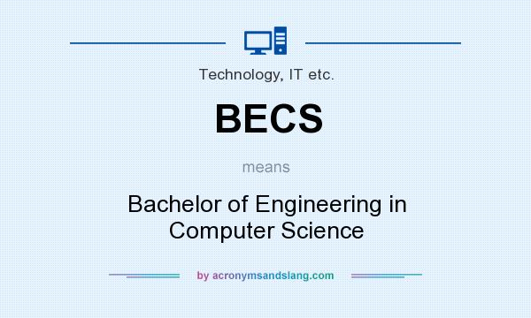 What does BECS mean? It stands for Bachelor of Engineering in Computer Science