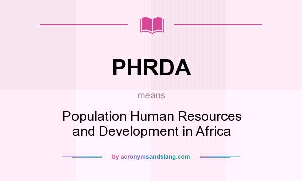 population and human resources Population and the environment: if every country made a commitment to population stabilization and resource the ecological dominance of the human population.