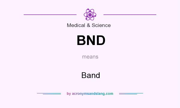 What does BND mean? It stands for Band