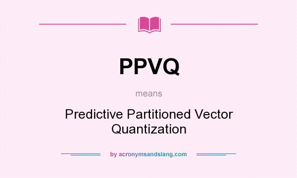 What is vector quantization