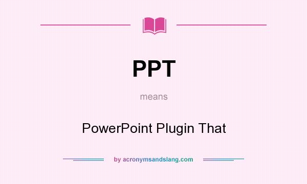 what does power point mean