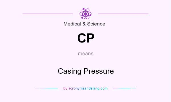 What does CP mean? It stands for Casing Pressure